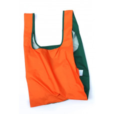 KIND BAG - Bicolour Orange & Green Indkøbspose i Medium