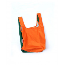 KIND BAG - Bicolour Orange & Green Indkøbspose i Mini