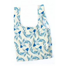 KIND BAG - Koi Fish Indkøbspose i Medium