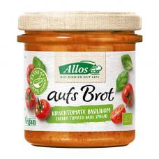 Allos - Smørepålæg Cherry & tomat-Basilikum