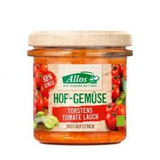 Allos - Økologisk Smørepålæg med Tomat & Porre