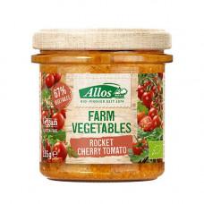 Allos - Økologisk Smørepålæg med Rucola & Cherry tomat