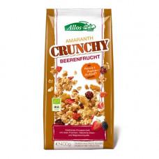 Allos - Økologisk Amaranth Crunchy Müsli med Red fruit & Wild berry