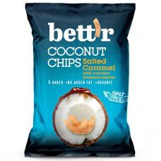 Bett'r - Kokoschips saltet karamel med kokosblomst nektar