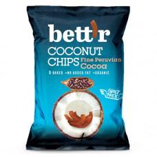 Bett'r - Kokoschips med fin peruvian kakao