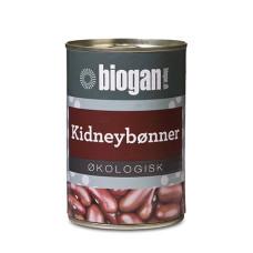 Biogan - Økologiske Kidney bønner på dåse