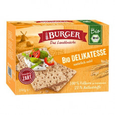 Burger - Økologisk Fuldkorn Knækbrød