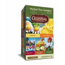 Celestial - Herbal Tea Sampler med 5 Varianter