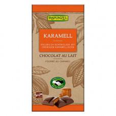 Rapunzel - Økologisk Mælkechokolade med karamel