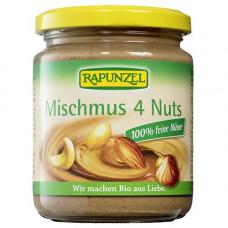 Rapunzel - ren nøddecreme med 4 slags nødder