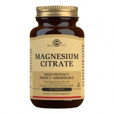 Solgar - Magnesium Citrat 200mg, 120 stk.
