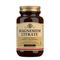 Solgar - Magnesium Citrate 200 mg, 60 stk.