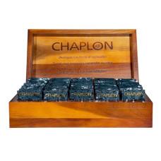 CHAPLON - Økologisk Tekasse af træ med 50 tebreve
