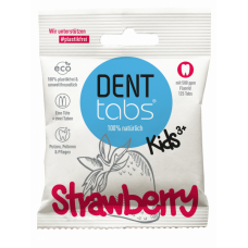 DENTTABS - Tandpasta tabletter til børn med fluorid