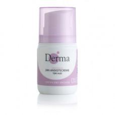 Derma - Eco woman 24h tør ansigtscreme tør hud