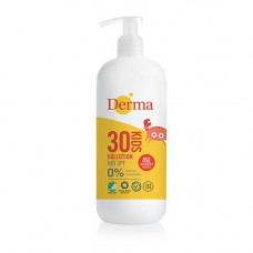 Derma - kids sollotion SPF 30 med pumpe