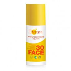Derma - solcreme ansigt SPF 30