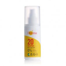 Derma - solspray SPF 20