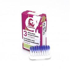 Lamazuna - 3pak ekstra soft Tandbørstehoveder