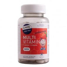 Livol - Mulit Vitamin Børn med jordbærsmag