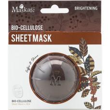 Maskafé - Ansigtsmaske Bio-Cellulose Brightening