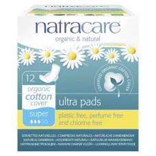 natracare - Ultra bind Super med vinger, indpakket enkeltvis