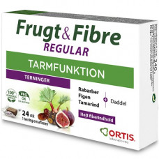 ORTIS - Frugt & Fibre Regular Tyggeterninger