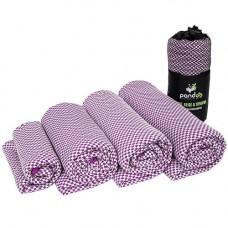 Pandoo - Bambus Håndklæde i Lilla 200 x 80 cm XL