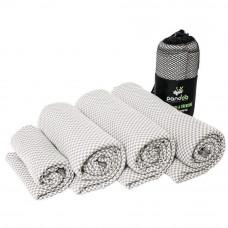 Pandoo - Letvægtshåndklæde str. S - Grå
