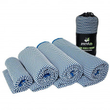Pandoo - Letvægtshåndklæde str. S - Blå