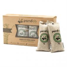 Pandoo - Bambus 4 x 75 G Aktivkul Luftrenser Pude