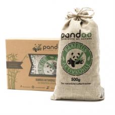 Pandoo - Bambus 1 x 500 G Aktivkul Luftrenser Pude