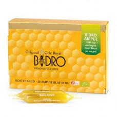 Bidro - Økologiske Gele Royal Ampuller