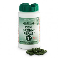Bidro - Økologisk Chlorella - Den Grønne Perle 640 Tabletter