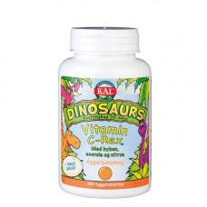 KAL - DinoSaurs Vitamin C-Rex til Børn 100 Tyggetabletter