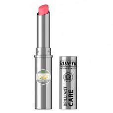 Lavera - Brilliant Care Q10 Lipstick Strawberry Pink 02