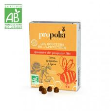 Propolia - Økologisk Propolis Sugetabletter med Ingefær, Citron & Agave