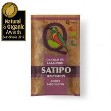Q-Organic - Økologisk Criollo Rå Kakaonibs med Yacon