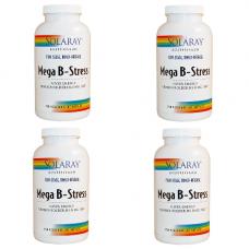 Solaray - Mega B-Stress 4 x 250 Kapsler