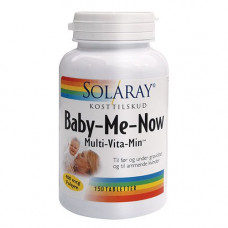 Solaray - Baby-Me-Now 150 tabletter