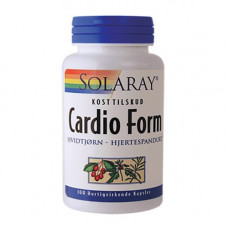 Solaray - Cardio Form 100 Kapsler