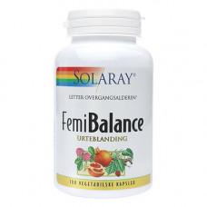 Solaray - Femi Balance 100 Kapsler