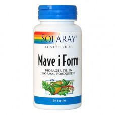 Solaray - Mave I Form 100 Kapsler