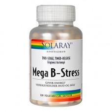 Solaray - Mega B-Stress 120 Kapsler