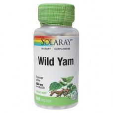 Solaray - Wild Yam Root 400 mg