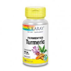 Solaray - Turmeric Fermenteret 90 Kapsler