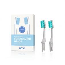 TIO - Udskiftelige tandbørstehoveder i grå / medium