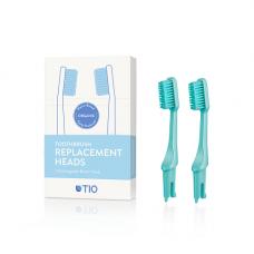 TIO - Udskiftelige tandbørstehoveder i grøn / soft
