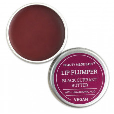 Beauty Made Easy - Lip Plumper - Tinted Lip Butter Black Current