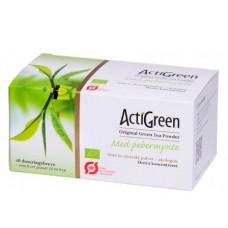 ActiGreen - Grøn Te Med Pebermynte Økologisk